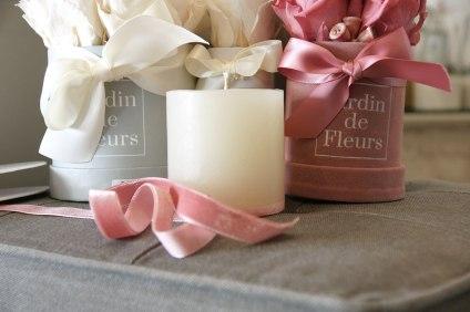 Selbstgegossene Kerzen